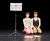Nora <br /> at Lilian Baylis Studio, Sadlers Wells, London, Great Britain <br /> rehearsal <br /> 1st Jun 2017 <br /> created by and performed by <br /> Eleanor Sikorski <br /> Flora Wellesley Wesley <br /> <br /> Eleanor and Flora Music <br /> <br /> <br /> <br /> <br /> Photograph by Elliott Franks <br /> Image licensed to Elliott Franks Photography Services