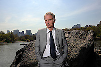 USA. Manhattan. 23rd April 2008..John McEnroe photographed in Central Park..©Andrew Testa