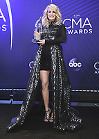 NASHVILLE, TN - NOVEMBER 14:  Carrie Underwood at the 52nd Annual CMA Awards at the Bridgetone Arena on November 14, 2018 iin Nashville, Tennessee. (Photo by Scott Kirkland/PictureGroup)