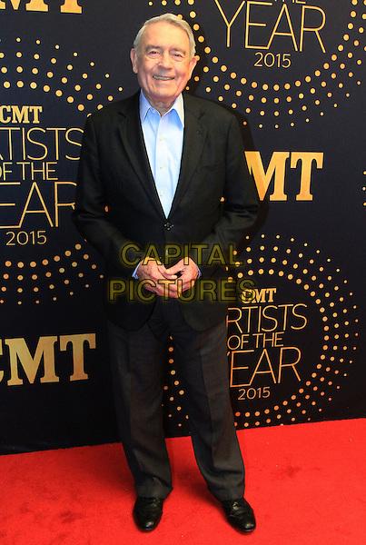 02 December 2015 - Nashville, Tennessee - Dan Rather. 2015 &quot;CMT Artists of the Year&quot; held at Schermerhorn Symphony Center. <br /> CAP/ADM/BM<br /> &copy;BM/ADM/Capital Pictures