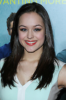 "LOS ANGELES, CA - JANUARY 27: Hayley Orrantia at the Los Angeles Premiere Of Focus Features' ""That Awkward Moment"" held at Regal Cinemas L.A. Live on January 27, 2014 in Los Angeles, California. (Photo by David Acosta/Celebrity Monitor)"