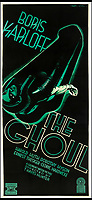 BNPS.co.uk (01202 558833)<br /> Pic: Bonhams/BNPS<br /> <br /> The Ghoul, 1933, estimate &pound;5,000.<br /> <br /> A wacky collection of sci-fi and horror genre B movie posters from the 'Golden Age of Hollywood' have emerged for sale. <br /> <br /> The 15-strong assortment of obscure advertisements spans from 1933 until 1966 and are worth up to &pound;5,000 each. <br /> <br /> B movies were characterised by their low-budget and extravagant posters, which were often better received than the actual film. <br /> <br /> The most expensive is an 83ins by 39ins poster for the 1933 film Ghoul, which is expected to fetch &pound;5,000. <br /> <br /> The posters have been consigned to auction by a selection of UK sellers to auctioneer Bonhams.