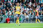 Stockholm 2014-08-24 Fotboll Superettan Hammarby IF - Ljungskile SK :  <br /> Ljungskiles David Johannesson ser nedst&auml;md ut<br /> (Foto: Kenta J&ouml;nsson) Nyckelord:  Superettan Tele2 Arena Hammarby HIF Bajen Ljungskile LSK depp besviken besvikelse sorg ledsen deppig nedst&auml;md uppgiven sad disappointment disappointed dejected