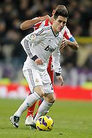 Real Madrid's Jose Callejon during La Liga Match. December 02, 2012. (ALTERPHOTOS/Alvaro Hernandez)