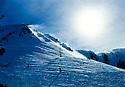 Winter Cold Landscape - Squaw Valley, Ca