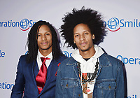 SANTA MONICA, CA - SEPTEMBER 09: Dancers Larry Bourgeois and Laurent Bourgeois aka Les Twins! attend Operation Smile's Annual Smile Gala at The Broad Stage on September 9, 2017 in Santa Monica, California.<br /> CAP/ROT<br /> &copy;ROT/Capital Pictures