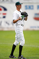 July 30, 2009:  Pitcher Joseph O'Gara of the Jamestown Jammers during a game at Russell Diethrick Park in Jamestown, NY.  The Jammers are the NY-Penn League Short-Season Single-A affiliate of the Florida Marlins.  Photo By Mike Janes/Four Seam Images