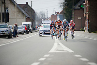 the escape group was formed early in the race<br /> <br /> 58th E3 Harelbeke 2015