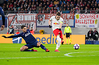 10th March 2020, Red Bull Arena, Leipzig, Germany; EUFA Champions League, RB Leipzig v Tottenham Hotspur; Marcel Sabitzer 7, beats Lloris in goal as he scores with a shot for 1-0