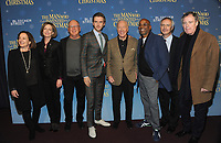NEW YORK, NY - NOVEMBER 12:  Producer Paula Mazur, screenwriter Susan Coyne , Robert Mickelson, actors Dan Stevens and Christopher Plummer, director Bharat Nalluri, Ian Sharples and author Les Standiford attend 'The Man Who Invented Christmas' New York Screening at Florence Gould Hall on November 12, 2017 in New York City. <br /> CAP/MPI/JP<br /> &copy;JP/MPI/Capital Pictures