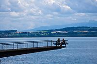 Europe/Suisse/Jura Suisse/ Neuchatel: les bords du Lac de Neuchâtel