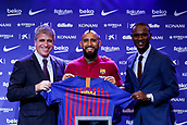2018 Football FC Barcelona New Signing Arturo Vidal Press Conference Aug 6th