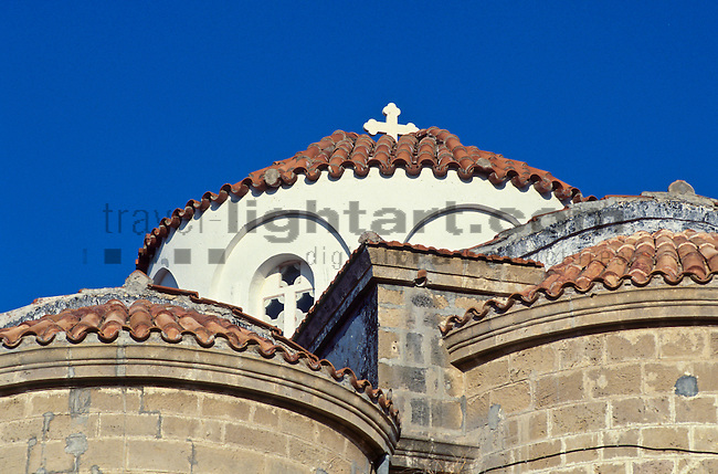 Griechisch Orthotoxe Kirche, Church, Paphos, Pafos, Cyprus. Zypern.