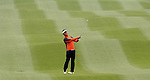 SUZHOU, CHINA - APRIL 15: Lin Wen-tang of Taiwan plays his second shot on the 16th hole during the Round One of the Volvo China Open on April 15, 2010 in Suzhou, China. Photo by Victor Fraile / The Power of Sport Images