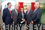 Jimmy Deenihan TD, Minister for Arts, Heritage and the Gaeltacht  official opening the Tralee Community Nursing Unit on Friday. Pictured l-r: Kerry County Manager Tom Curran, Mike Fitzgerald (Area Manager, HSE South),  Mary Shea (acting director of nursing), Jimmy Deenihan TD and Barry O'Brien (National Director of Human Resources, HSE).