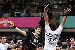 Christophersen vs Carou. GERMANY vs ARGENTINA: 31-27 - Preliminary Round - Group A