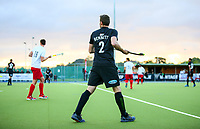 Cory Bennett. International Hockey, Blacksticks men v Canada. Warkworth Hockey Turf, Warkworth, Auckland, New Zealand. Thursday 18 October 2018. Photo: Simon Watts/ Hockey NZ