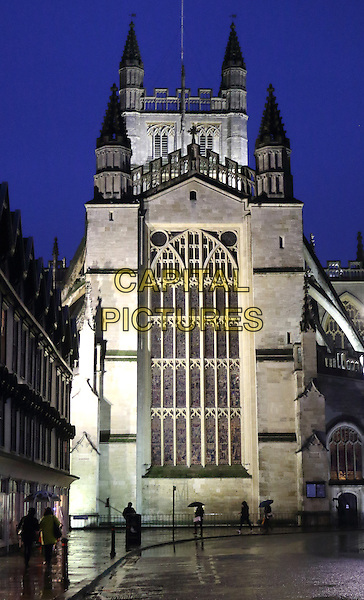 Bath Abbey, Bath, Somerset, England on December 30th 2015<br /> CAP/ROS<br /> &copy;Steve Ross/Capital Pictures
