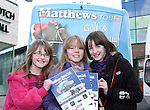 Tammy and Chloe Whelan with Katie O'Keefe at the Launch of the Matthews Tours Brochure...Photo NEWSFILE/Jenny Matthews.(Photo credit should read Jenny Matthews/NEWSFILE)....This Picture has been sent you under the condtions enclosed by:.Newsfile Ltd..The Studio,.Millmount Abbey,.Drogheda,.Co Meath..Ireland..Tel: +353(0)41-9871240.Fax: +353(0)41-9871260.GSM: +353(0)86-2500958.email: pictures@newsfile.ie.www.newsfile.ie.FTP: 193.120.102.198.