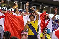 HARRISON, EUA, 05.09.2019 - PERU-EQUADOR - Torcedored do Peru e do  Equador amistoso internacional na Red Bull Arena em Harrison nos Estados Unidos nesta quinta-feira, 05. (Foto: William Volcov/Brazil Photo Press)