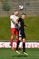 ISPS Handa Premiership - Phoenix v Canterbury United at Newtown Park, Wellington, New Zealand on Sunday 11 November 2018. <br /> Photo by Masanori Udagawa. <br /> www.photowellington.photoshelter.com