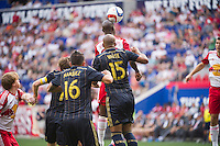 HARRISON, NJ - Sunday May 24, 2015: The New York Red Bulls lose 2-0 to the Philadelphia Union at home at Red Bull Arena on Memorial Day Weekend in regular season MLS play.