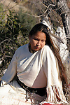 A young Native American Indian Woman portrait