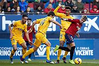 Brandon (forward; CA Osasuna) during the Spanish football of La Liga 123, match between CA Osasuna and AD Alcorcón at the Sadar stadium, in Pamplona (Navarra), Spain, on Sanday, December 16, 2018.