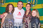 Catriona O'Shea, Simon O'Shea, Elaine Doonan and Hannah O'Donovan pictured at the Haiti concert in Beaufort Bar on Monday night...