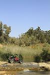 Israel, Nahal Gerar springs in the Northern Negev