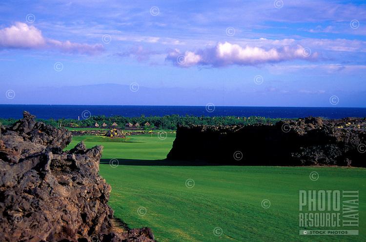 Hualalai Resort, No. 7, Big Island, Hawaii. Architect: Jack Nicklaus