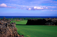 Hualalai Resort, No. 7, Big Island, Hawaii. Architect: Jack Nicklaus