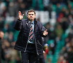 Rangers manager Graeme Murty at full time