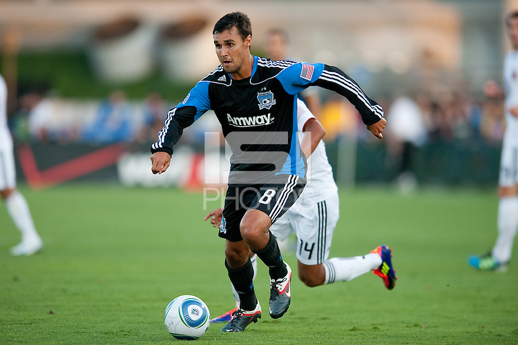 SANTA CLARA, CA--San Jose Earthquakes lose to DC United 2-0 at Buck Shaw Stadium in Santa Clara, CA.