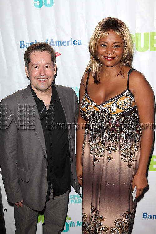Tonya Pinkins attending the Opening Night Performance of The Public Theater's 'InTo The Woods' at the Delacorte Theater in New York City on 8/9/2012. © Walter McBride/WM Photography