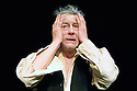 Krapp's Last Tape by Samuel Beckett. With John Hurt. Opens at the Barbican Pit Theatre on 26/4/06. CREDIT Geraint Lewis