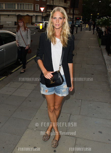 Poppy Delevingne at the launch party for the Taylor Morris Eyewear Range, Chelsea, London. 05/09/2013 Picture by: Dave Norton / Featureflash