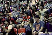 RIO DE JANEIRO, RJ, 25 DE MAIO 2013 - NBB - FLAMENGO X SÃO JOSÉ - Anderson Varejão durante partida Flamengo X São José, válida pela semifinal do NBB na HSBC Arena, no Barra da Tijuca, na Zona Oeste do Rio de Janeiro, na noite desta sábado, 25.  (FOTO: JORGE R. JORGE / BRAZIL PHOTO PRESS).