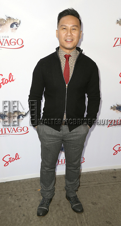 B.D. Wong attends the Broadway Opening Night Performance of  'Doctor Zhivago'  at  The Broadway Theatre on April 21, 2015 in New York City.