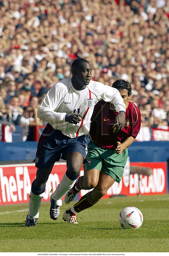 EMILE HESKEY, ENGLAND 1 v Portugal 1, International Friendly, Villa Park 020907 Photo:Glyn Kirk/Action Plus...Soccer.Football 2002..