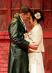 2007  - DON GIOVANNI - Wayne Tigges as Giovanni and Zheng Cao as Zerlina share a close moment in Opera Pacific's production of Don Giovanni.