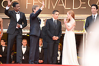 "Chris Rock, Martin Short, Ben Stiller, Jessica Chastain and David Schwimmer attending the ""Madagascar III"" Premiere during the 65th annual International Cannes Film Festival in Cannes, France, 18.05.2012..Credit: Timm/face to face/MediaPunch Inc. ***FOR USA ONLY***"