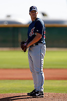 Vinnie Pestano  -  Cleveland Indians - 2009 spring training.Photo by:  Bill Mitchell/Four Seam Images