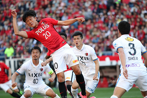 Tadanari Lee (Reds),<br /> MAY 4, 2017 - Football / Soccer : 2017 J1 League match between Urawa Red Diamonds 0-1 Kashima Antlers at Saitama Stadium 2002 in Saitama, Japan. (Photo by Jun Tsukida/AFLO SPORT)