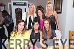 Trisha Moran from Spa Road, Tralee celebrating her 30th Birthday with friends at Bella Bia on Saturday.  Front l-r Sharon O'Sullivan, Trisha Moran, Emma O'Brien.  Back l-r Grace Moran, Rosanna O'Dwyer, Noelle O'Sullivan