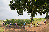 head of the race over gravel roads<br /> <br /> Dwars door het Hageland (1.1)<br /> 1 Day Race: Aarschot &gt; Diest (194km)