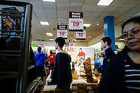 Customers visit JCPenny department store during Black Friday sales events in Jersey City, NJ.  11/27/2015. Eduardo MunozAlvarez/VIEWpress