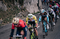 Tony Gallopin (FRA/AG2R-LaMondiale) in the mix<br /> <br /> 76th Paris-Nice 2018<br /> stage 6: Sisteron &gt; Vence (198km)