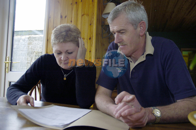 23-03-05 - Bernard and Jacqueline Mohan photographed at their house in Dalgan Park, Navan..Photo:Barry Cronin/Newsfile....This Picture has been sent you under the condtions enclosed by:.Newsfile Ltd..the Studio,.Millmount Abbey,.Drogheda,.Co Meath..Ireland..Tel: +353(0)41-9871240.Fax: +353(0)41-9871260.GSM: +353(0)86-2500958.email: pictures@newsfile.ie.www.newsfile.ie.FTP: 193.120.102.198..This picture is from Fran Caffrey@newsfile.ie