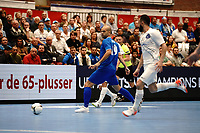 20191010 - HALLE: Halle-Gooik's Diogo 's  is pictured during the UEFA Futsal Champions League Main Round match between FP Halle-Gooik (BEL) and Kherson (UKR) on1 0th October 2019 at De Bres Sportcomplex, Halle, Belgium. PHOTO SPORTPIX | SEVIL OKTEM